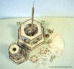 Weihnachtspyramide Bauplan Einzelteile