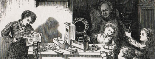 Laubsägen Geschichte - Historische Laubsägearbeiten