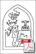 Download kostenlose Laubsägevorlage Fensterbild