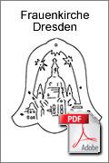 Download kostenlose Laubsägevorlage Frauenkirche Glocke