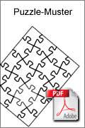 Download kostenlose Laubsägevorlage Puzzle-Muster